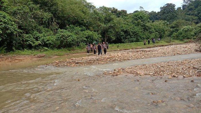 Berantas PETI, Tim Gabungan TNI-Polri dan Pemkab Sarolangun Kembali Sisir Wilayah Lubuk Bedorong