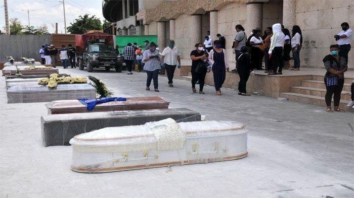 MENGERIKAN Dampak Corona di Negara Ini, Mayat-mayat Dibungkus Plastik Berserakan di Pingir Jalan