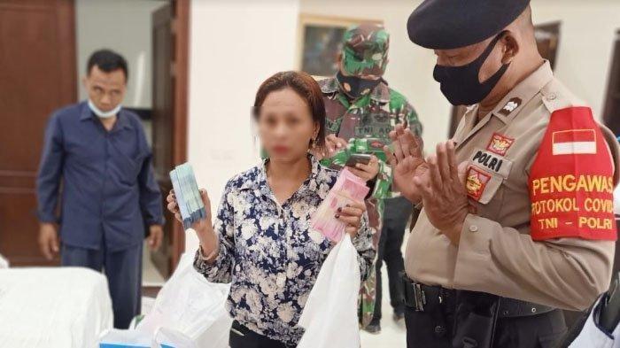 Wanita Dari Jawa Barat Diamankan Saat Bawa Uang Rp 1,3 Miliar, Nginap di Hotel 14 Hari Tak Mau Bayar