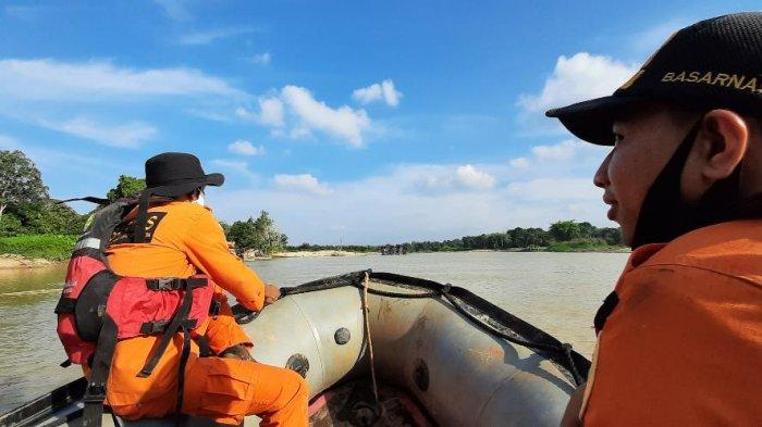 Hari Kedua Pencarian Pelajar SMP yang Tenggelam di Sungai Batang Tebo Belum Membuahkan Hasil