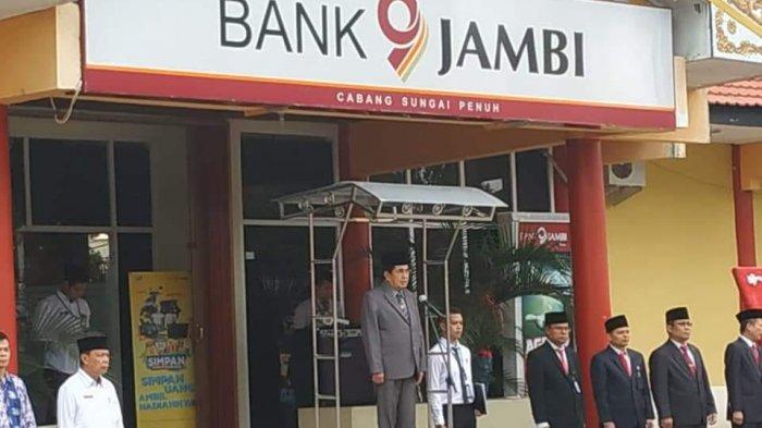 Pimpin Upacara HUT Bank Jambi ke 57, Wako AJB : Create Solusi yang Permudah Aktivitas Masyarakat