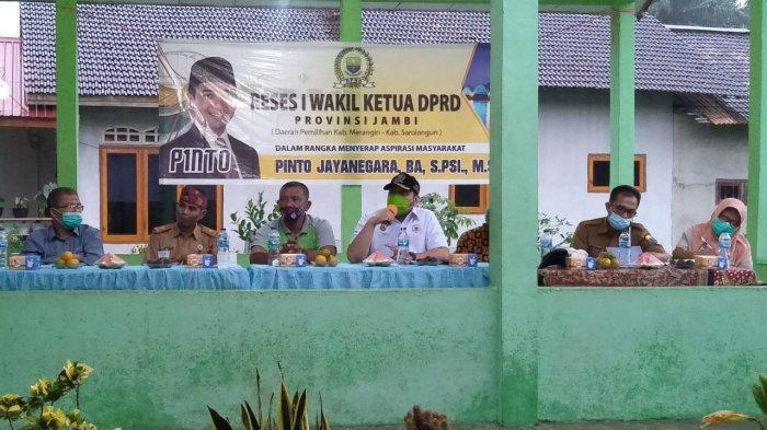 Ke Kabupaten Merangin, Pinto Jayanegara Jemput Aspirasi Masyarakat