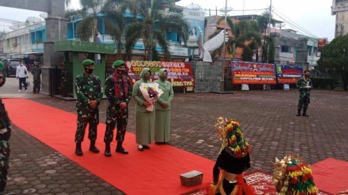 Letkol Inf Widi Rahman Titip Kodim 0416/Bute ke Letkol Inf Arianto Maskare Subagio