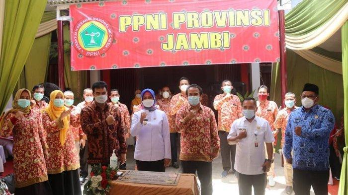 Pj Gubernur Jambi Dr Hari Nur Cahya Murni menghadiri HUT ke-47 Persatuan Perawat Nasional Indonesia (PPNI) Provinsi Jambi Tahun 2021.