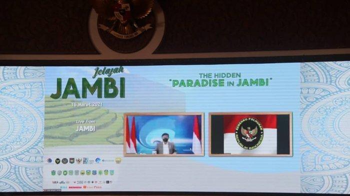 PJ Gubernur Jambi Luncurkan Jelajah Jambi, The Hidden Paradise in Jambi