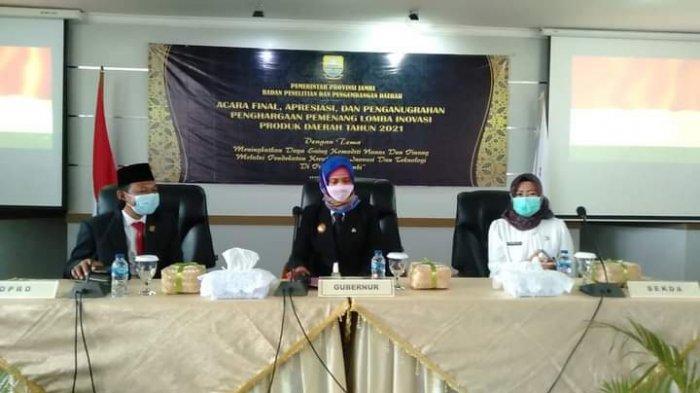 Pj Gubernur Jambi Harap Lomba Inovasi Daerah Lahirkan Inovator Berkualitas