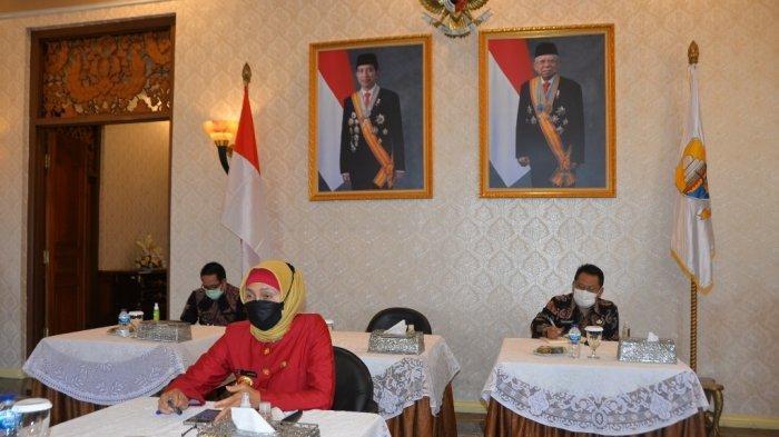 PJ Gubernur Jambi Hadiri Pembukaan Rakortekrenbang Secara Daring