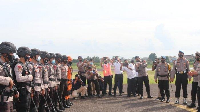 Pj Gubernur Saksikan latihan antisipasi kebakaran hutan dan lahan di Provinsi Jambi