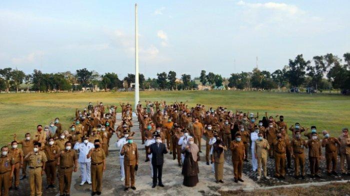 Jabatan PJ Sekda Muarojambi Diperpanjang, Ratusan Pejabat Eselon III dan IV Resmi Dilantik Bupati
