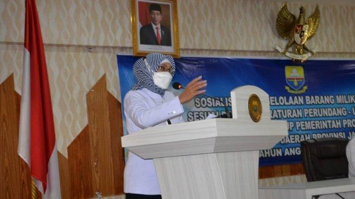 Pj Gubernur Jambi Buka Acara Sosialisasi Penyusutan Barang Milik Daerah Lingkup Pemprov Jambi