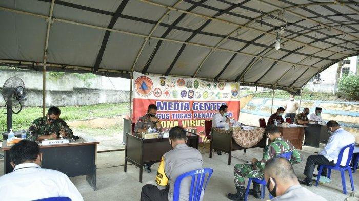 Pjs Gubernur Jambi Ir.Restuardy Daud,M.Sc menegaskan bahwa penanganan Covid-19 di Provins Jambi harus terus ditingkatkan