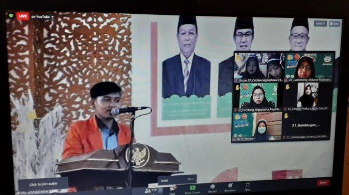Rektor Prof Sutrisno Buka Kegiatan PKK-BM Universitas Jambi 2021 Secara Daring