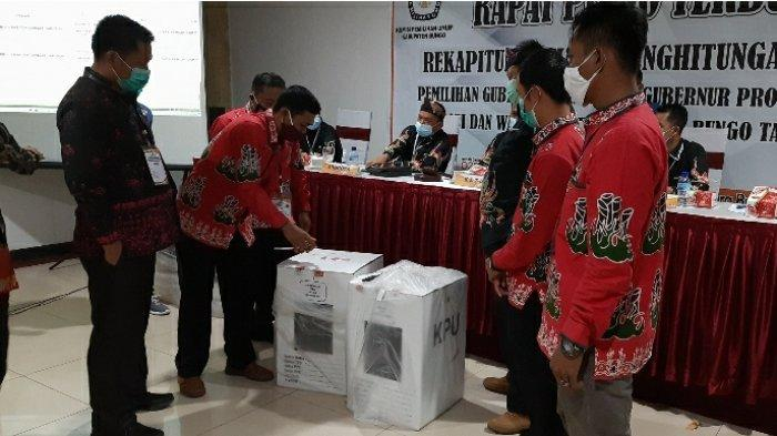 Sudah 13 Kecamatan, KPU Bungo Skors Pleno Terbuka Rekapitulasi Suara Tingkat Kabupaten