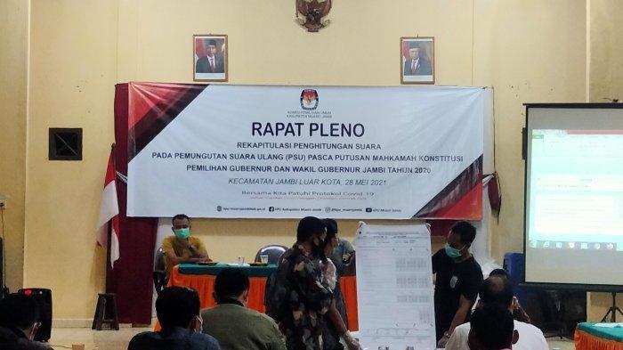 Hari ini 38 TPS yang Gelar PSU di Jaluko Pleno Rekapitulasi Hitung Suara, Hasil Bisa Lihat di Sini