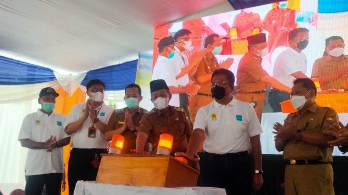PLN UP3 Jambi Resmikan Desa PLN Mobile Pertama se-Indonesia di Muarojamb