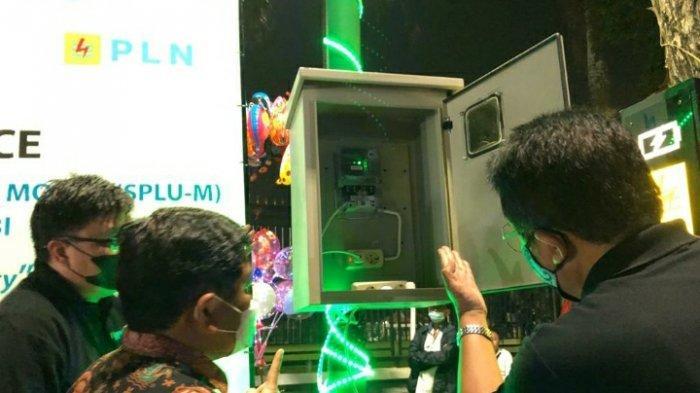 Resmikan SPLU-M di Area Tugu Keris, PLN UP3 Jambi Realisasikan Smart Green City
