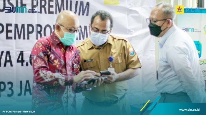 PLN UIW S2JB Resmikan Zona Eksklusif Premium (ZEP) Kawasan Perkantoran Provinsi Jambi