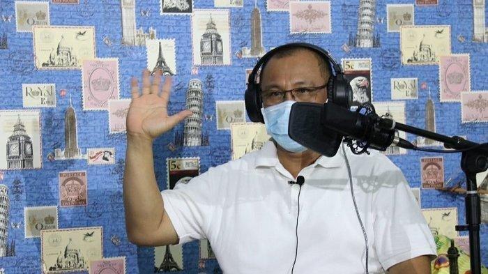 Plt Wali Kota Medan Akhyar Nasution, saat berdialog di channel YouTube Medan Berkarakter, Selasa (21/7/2020).