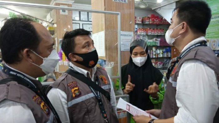 Antisipasi Penimbunan, Polda Jambi Monitoring Sejumlah Apotek dan Produsen Gas Oksigen di Kota Jambi