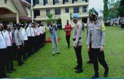 Tim gabungan Polda Jambi melakukan pengecekan dan pemeriksaan terhadap personel Polri yang terindikasi sebagai penyalahguna narkoba di wilayah hukum Polres Sarolangun, Polres Merangin dan Polres Bungo.