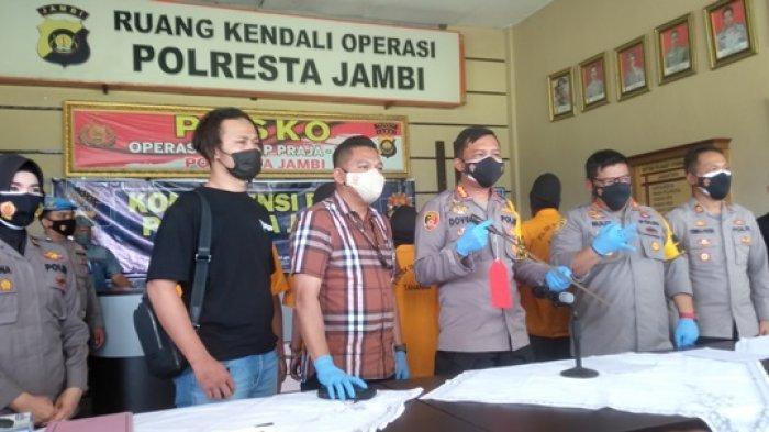 Polisi Akhirnya Tetapkan 6 Tersangka dan 1 DPO Kasus Pembacokan Siswa SMAN 7 Kota Jambi