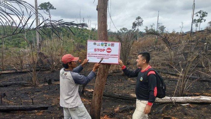 Polisi Hutan TNBD Bersama Orang Rimba dan Masyarakat Lakukan Pencegahan Dini Karhutla