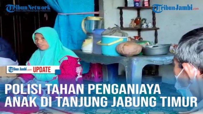 Polisi Tahan Penganiaya Anak di Tanjung Jabung Timur