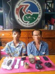 Polisi Tangkap Bandar Sabu di Kamar Hotel di Rimbo Bujang, Tebo, 2 Tersangka Berhasil Diringkus