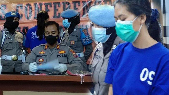 Polisi ungkap kasus sate maut di Bantul di Mapolres Bantul, Senin (03/05/2021)