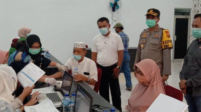 Polres Merangin Gencar Vaksinasi Massal Hingga ke Lansia, Pemkab Sebut Luar Biasa