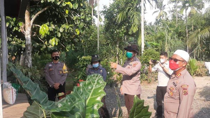 Polres Tanjabbar Apresiasi dan Salut Atas Langkah dan Upaya Pihak Desa Jati Emas