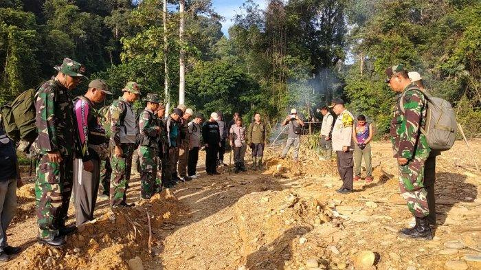 Tim Gabungan Polres Sarolangun turun ke wilayah Desa Lubuk Bedorong dalam rangka menindaklanjuti laporan masih adanya alat berat untuk PETI di daerah tersebut