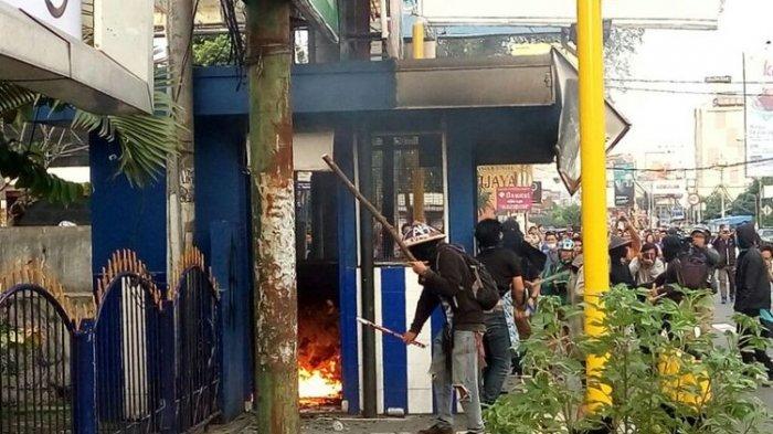 Ditangkap Aparat Saat Demo Bakar Pos Polisi di Jogja, Ini Pengakuan Mahasiswa Bungo