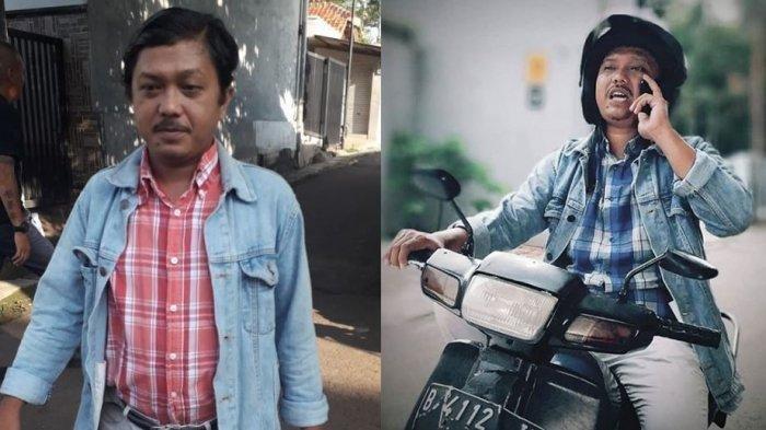 Tisna Pamit dari Tukang Ojek Pengkolan, Motor Butut Kesayangannya Dilelang buat Amal