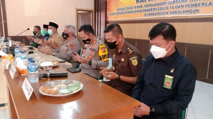 PPKM Sarolangun, Polda Jambi Ingatkan Penggunaan Anggaran Covid-19