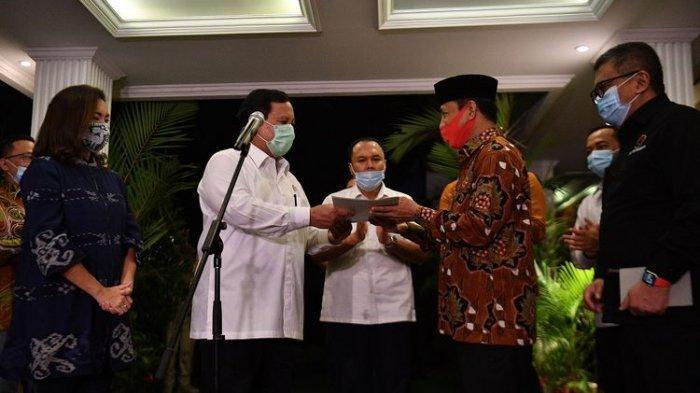 Partai Gerinda Sepakat Koalisi Dengan PDI-P di Pilkada Tangsel, Prabowo: Simbol Kebersamaan