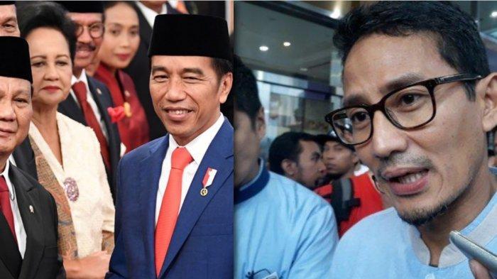 Saat Sebu Utang Gerindra di Pemilu 2019 Prabowo Tertawa-tawa, Lihat Ekpresi Sandiaga Uno