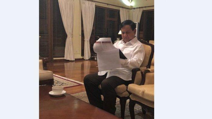Kondisi Prabowo Subianto Pagi Ini setelah Putusan MK Keluar