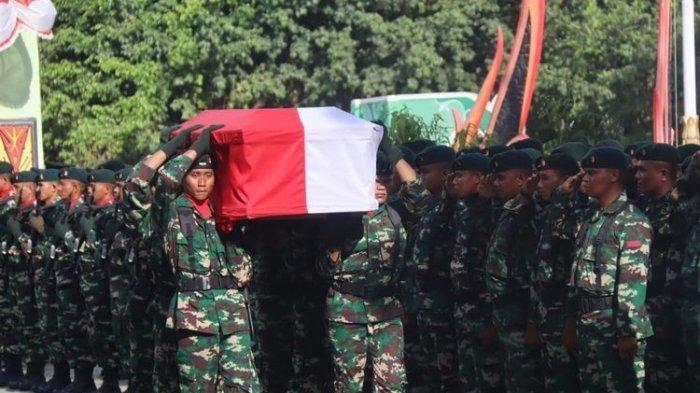 Dua Prajurit TNI gugur dikeroyok OTK di Yahukimo-Papua.
