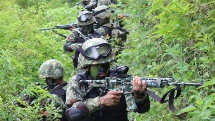 Markas KKB di Dsitrik Sugapa Digerebek Tim Gabungan TNI-Polri, 1 Tewas dan 2 Berhasil Ditangkap