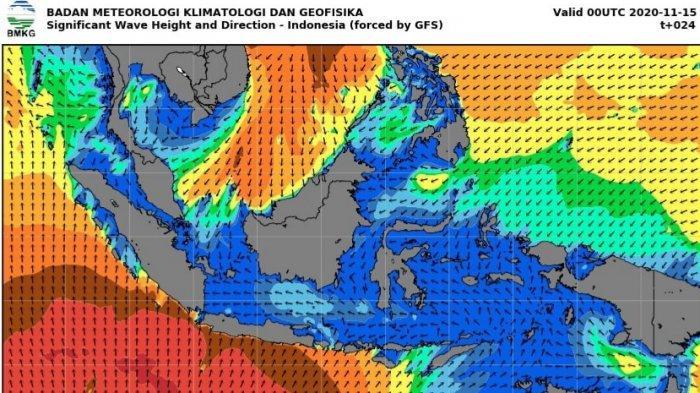 Update Prakiraan Cuaca dan Peringatan Dini Cuaca Ekstrem dari BMKG Jumat 23 Juli 2021