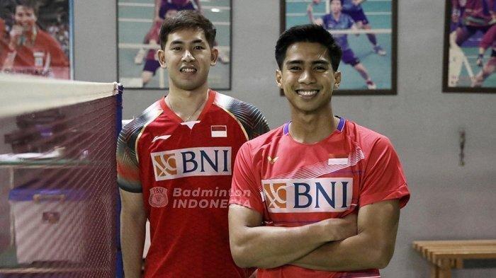 Hasil Final Spain Masters 2021 Pramudya/Yeremia Sumbang Gelar ke 3 Bagi Indonesia