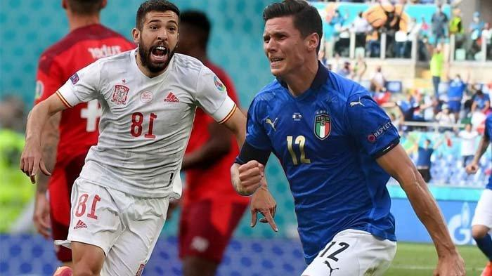 Semifinal EURO Italia vs Spanyol, Pasukan Roberto Mancini Diunggulkan Menang Lawan Matador