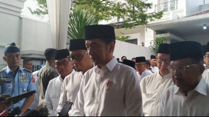 Terakhir Bertemu Presiden Jokowi, Gus Sholah Berpesan Banyak Hal,