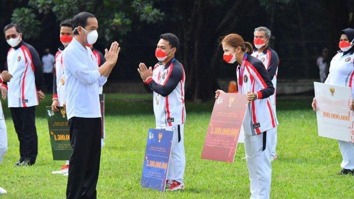 INI Besaran Bonus Atlet Olimpiade Tokyo 2020 dari Jokowi, Mulai dari Rp5,5 Miliar hingga Rp100 Juta