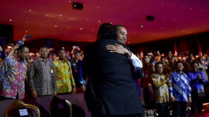 Di Depan Jokowi dan Megawati, Surya Paloh Jawab Soal Sindiran Pelukan dan Insiden Tak Disalami Mega