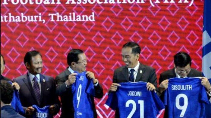 FIFA Berikan Jersey, Kepala Negara Lain No 9 & 10, Hanya Jokowi No 21, Ada Makna di Baliknya