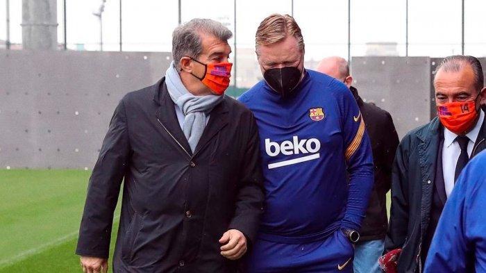 Meski Ganti Pelatih, Ronald Koeman Ragu Barcelona Bisa Lebih Baik dengan Pemain yang Ada