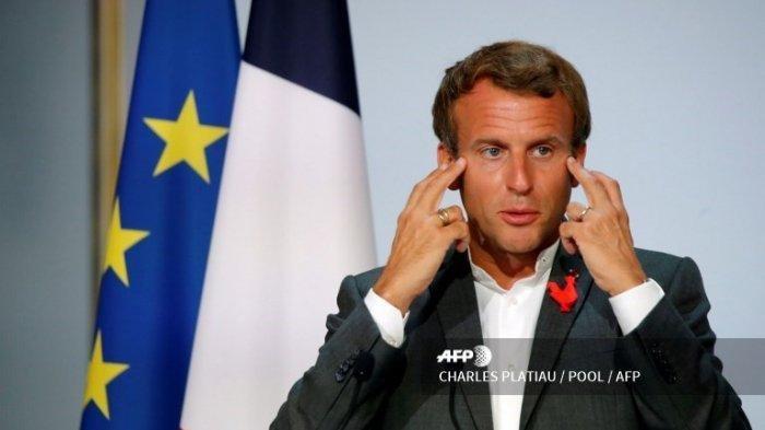 Inilah Sosok Penampar Presiden Prancis Emmanuel Macron, Awalnya Ingin Melemparkan Benda Ini