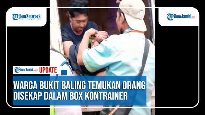 KRONOLOGI Eka Sopir Disekap di Kontainer Desa Bukit Baling, Ribuan Handphone Hilang